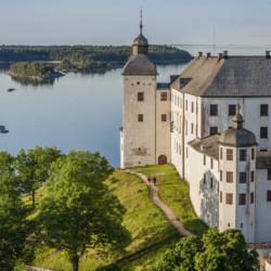 Umgebung vom schwedischen Freizeitheim Rörviksgården für Jugendfreizeiten