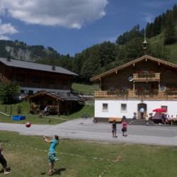 Das Gruppenhaus Höllwarthof in Österreich.