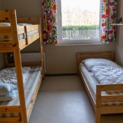Das Dreibettzimmer im Freizeitheim Ascheloh