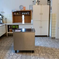 Eine Profi-Küche im deutschem Freizeitheim Ascheloh.