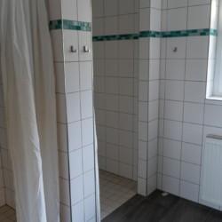 Duschraum im deutschen Freizeitheim Ascheloh.