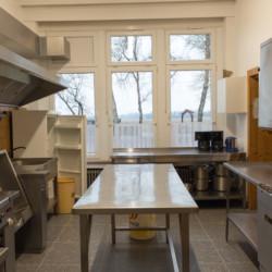 Küche im Kinderfreizeitheim Tannenheim in Deutschland