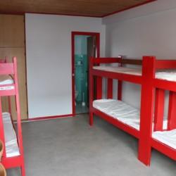 Gruppenzimmer im Freizeithaus Ristingegaard in Dänemark.