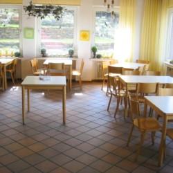 Der Speisesaal im Freizeitheim Ascheloh
