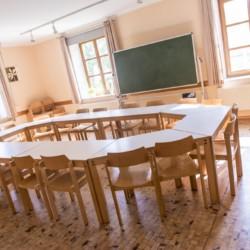 Gruppenraum im Freizeitheim Dornach in Bayern für Jugendfreizeiten