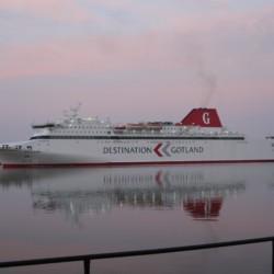 auf Richtung Gotland zum Freizeitheim Gustavs auf Gotland in Schweden