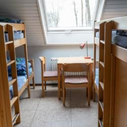 Zimmer im deutschen Kinderfreizeitheim Häger
