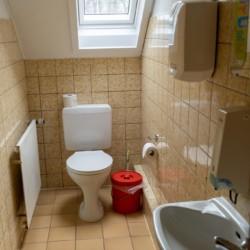 Sanitär im Kinderfreizeitheim in Deutschland