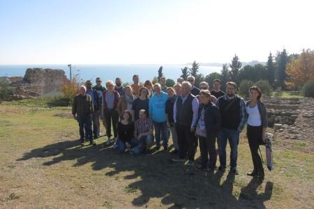 Unsere Reisegruppe bestand aus Gruppenleitern des Jugend- und Handicapreisenbereichs. Und von Hensers waren Jonas und Julia mit von der Partie.