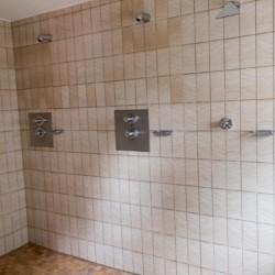 Dusche im Kinderfreizeitheim Largesberg