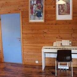 Das ePiano im norwegischen Gruppenhaus Omlid.
