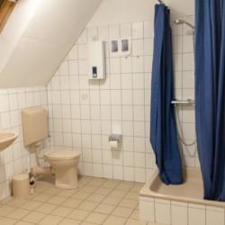 Badezimmer im Freizeitheim Burlage am Dümmer See