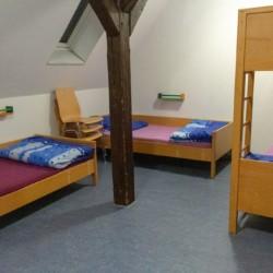 Schlafzimmer im Kinderfreizeitheim Burlage für integrative Freizeiten
