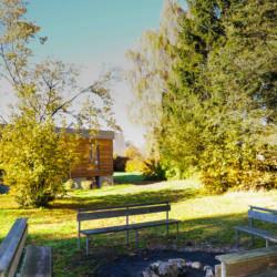 Lagerfeuerstelle am Freizeitheim Krekel für behinderte Menschen