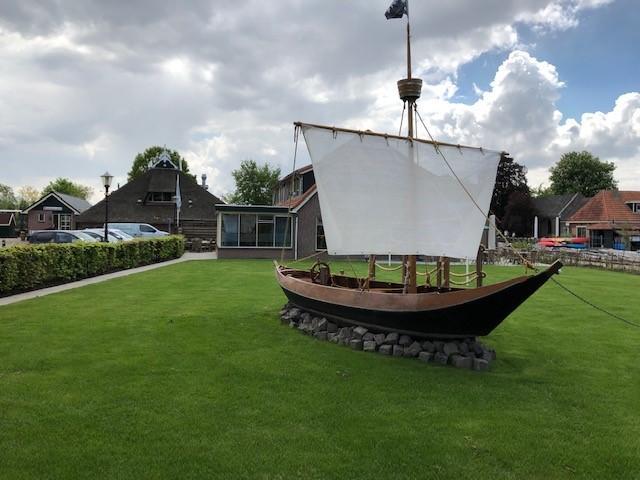 Die Wiese des Freizeitheims Doevehuis in den Niederlanden.