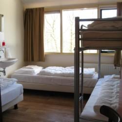 Die Zimmer im niederländischen Gruppenaus Doevehuis.