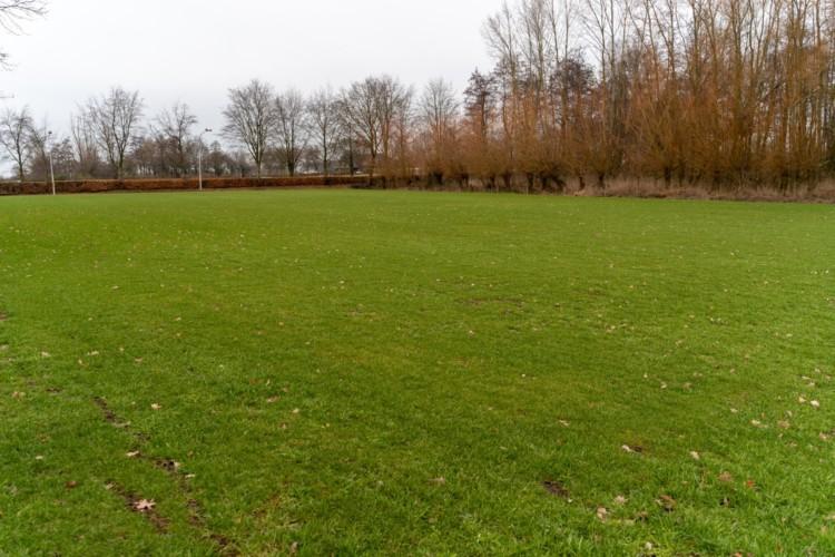 Große Sportwiese am niederländischen Gruppenhaus Het Lohr*** für Kinder und Jugendfreizeiten.