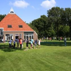 Die Anlange rund um das niederländische Freizeitheim Nijsingh.