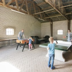 Aktivitätsscheune vom niederländischen Freizeitheim de Putte für Kinderfreizeiten