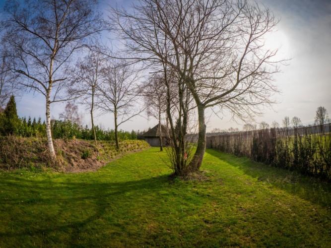 Das Gelände am Gruppenhaus Rowaldhoeve Boerderij in den Niederlanden.