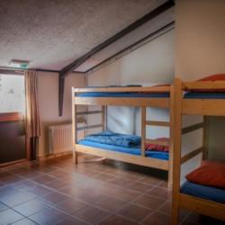 Das Zimmer im Freizeitheim Rowaldhoeve Boerderij in den Niederlanden.