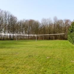2 JUR Die große Wiese am Haus Landerij in den Niederlanden.