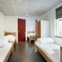 4 JUR Ein Zimmer im niederländischen Gruppenhaus Landerij.