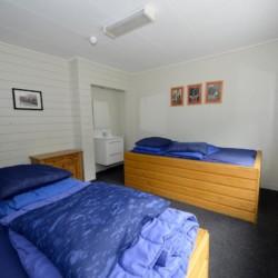 Die Zimmer der Ferienanlage im niederländischen Zwerfsteen.
