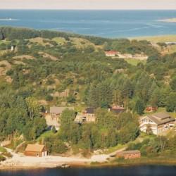 Blick auf das norwegische Freizeitheim Ognatun Ungdomssenter