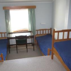 Dreibettzimmer im norwegischen Freizeitheim Solsetra Misjonssenter