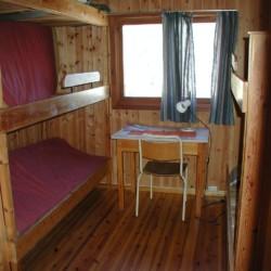 Ein Zimmer im norwegsichen Freizeitheim Undeland.