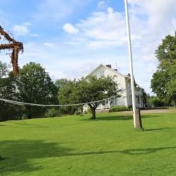 Das Gelände des schwedischen Freizeithauses Berga Gård.