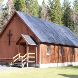 Die Kapelle gehört zum Freizeitheim Berghems in Schweden.