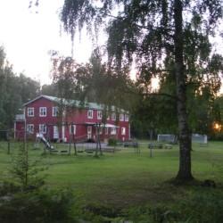schwedisches Gruppenhaus Däldenäs direkt am See für Kinderfreizeiten