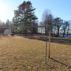 Außengelände vom schwedischen Freizeitheim Däldenäs direkt am See für Jugendfreizeiten
