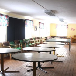 Gruppenraum im schwedischen Freizeitheim Däldenäs für Kinderfreizeiten