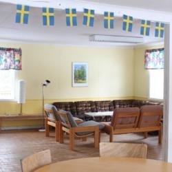 Gruppenraum im schwedischen Freizeitheim Däldenäs direkt am See für Jugendfreizeiten