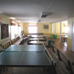 Gruppenraum im schwedischen Freizeitheim Däldenäs direkt am See für Kinderfreizeiten