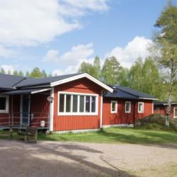 Das Freizeitheim Gläntan in Schweden.