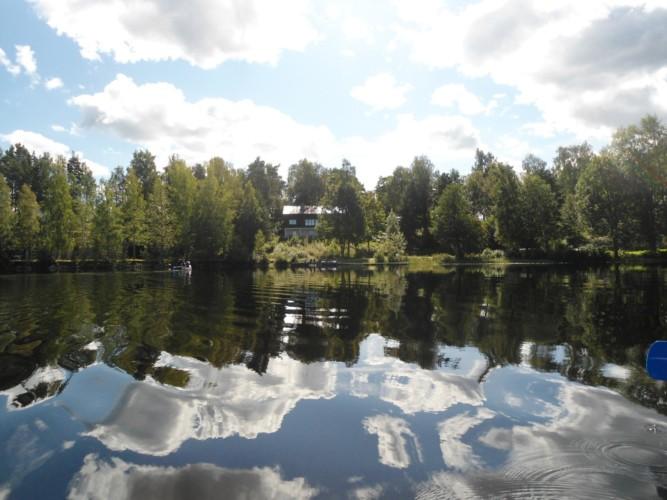 Das Gruppenhaus Greagarden in Schweden direkt am See.