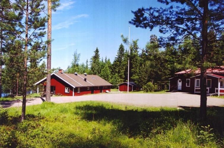Das Gruppenhaus Gussjöstugan für Kinder und Jugendfreizeiten in Schweden.