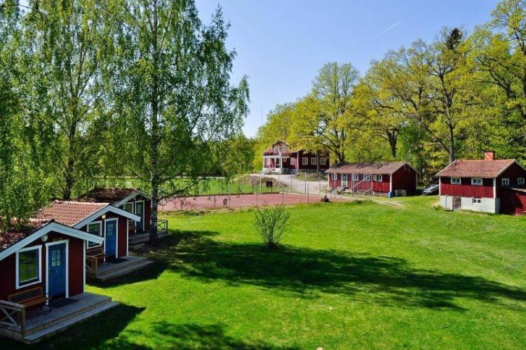 Das Freizeitgelände Idrottsgården i Flen in Schweden.