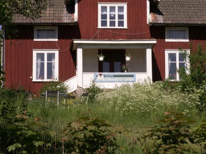 Das Gruppenhaus Munkaskog in Schweden.