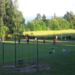 Das Gelände um das Gruppenhaus Munkaskog in Schweden.