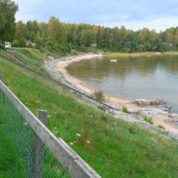 Badestelle am schwedischen Freizeitheim Rörviksgården für Jugendfreizeiten