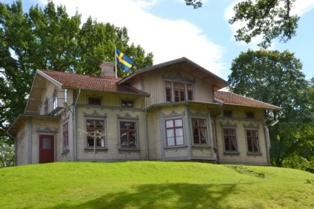 Das Freizeitheim Sjöhaga in Schweden.