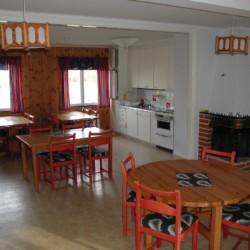 Ein weiterer Speisesaal im Gruppenhaus Stenbräcka in Schweden.