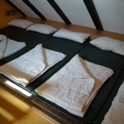 Der Schlafbereich im Gruppenhaus Heliand in Deutschland.