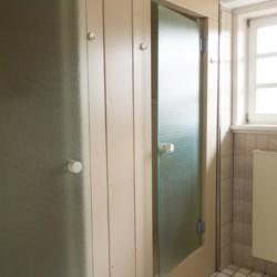 Die Duschen im Freizeitheim Largesberg.