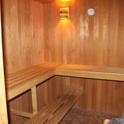 Die Sauna im Gruppenhaus Largesberg.